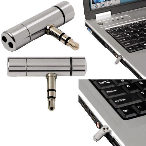 Мини микрофон за преносим компютър HAMA, 3.5мм, Сребрист-2