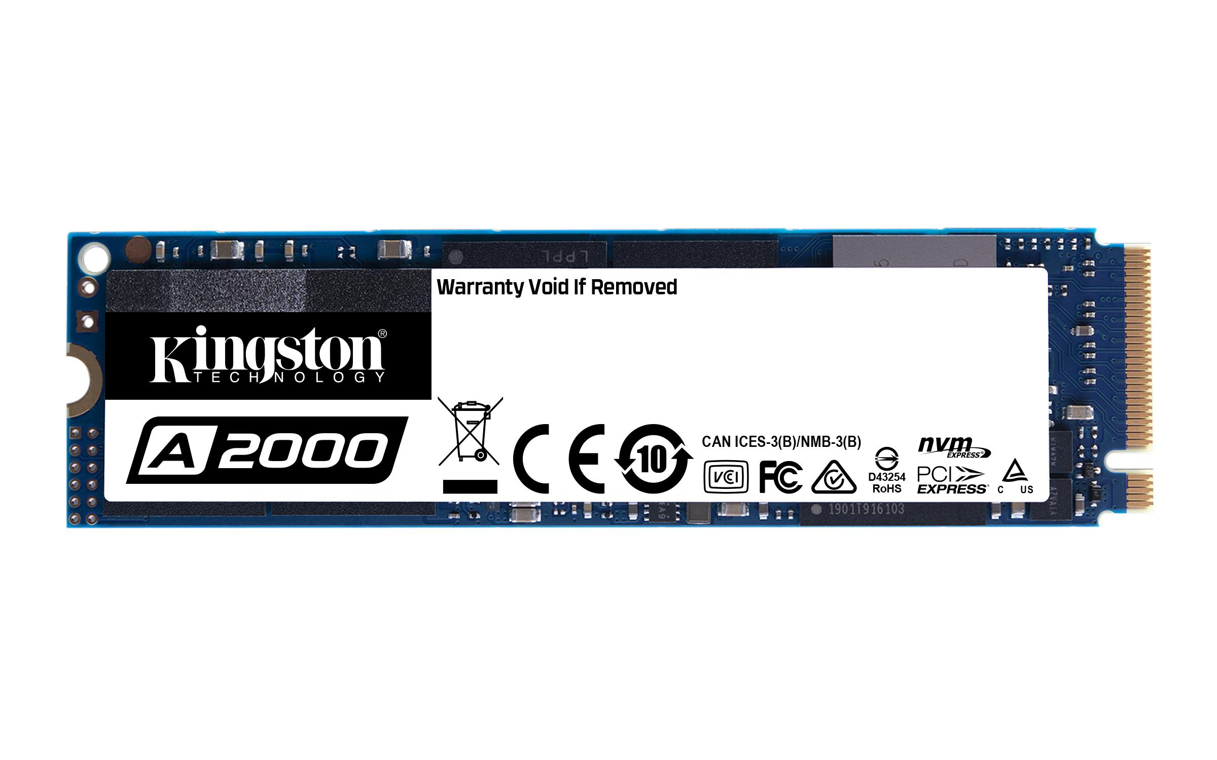 Solid State Drive (SSD) KINGSTON A2000 M.2-2280 PCIe Nvme 500GB-2