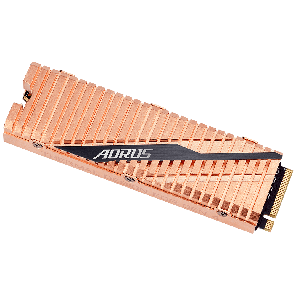 Solid State Drive (SSD) Gigabyte AORUS 500GB NVMe PCIe Gen4 SSD-3