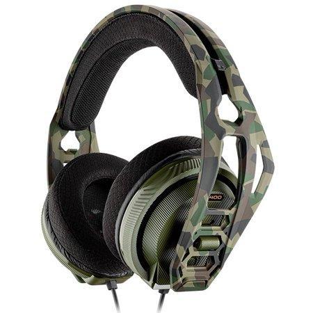 Геймърска слушалка Plantronics RIG 400HX, Forest Camo