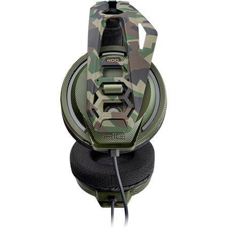 Геймърска слушалка Plantronics RIG 400HX, Forest Camo-2