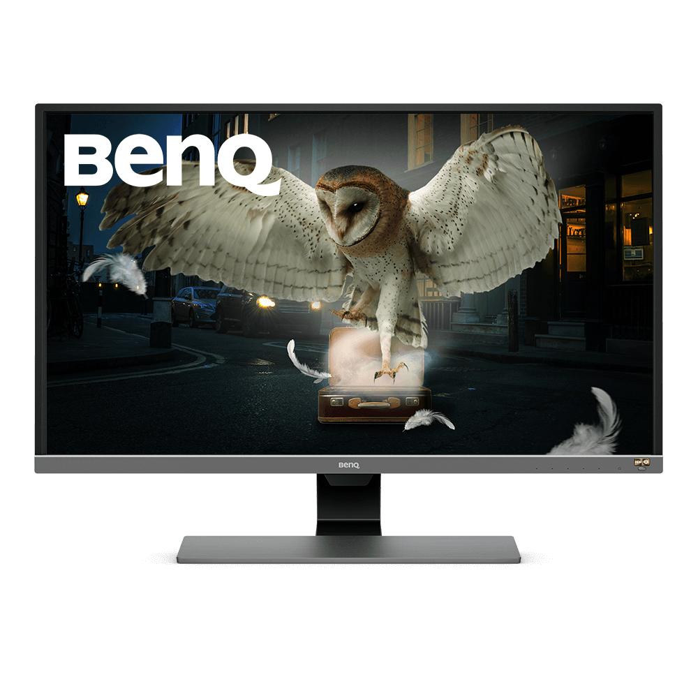 Монитор BenQ EW3270U, VA, 31.5 inch, Wide, 4K, Display Port, HDMI, USB-C, Черен