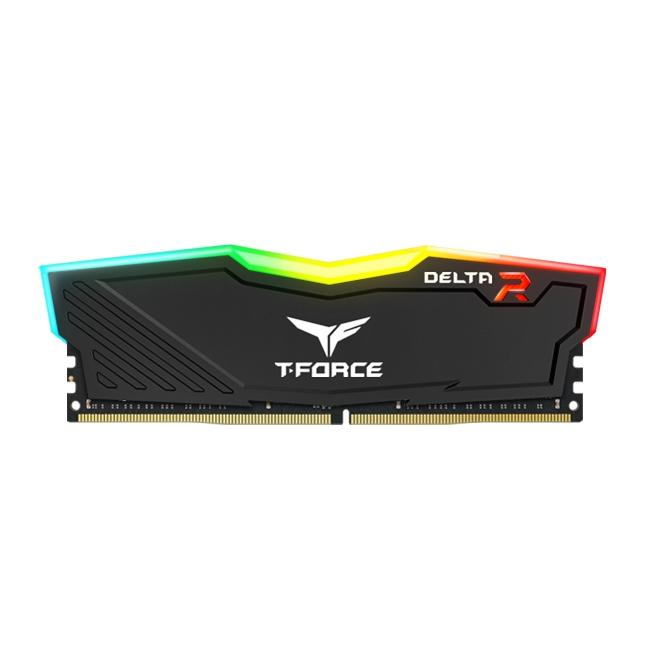 Памет Team Group T-Force Delta RGB Black  DDR4 - 8GB 3200MHz CL16