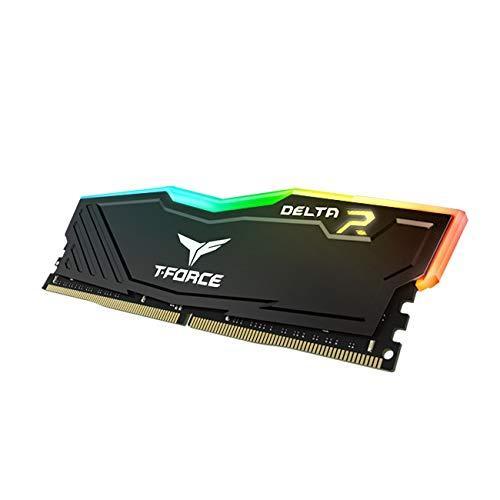 Памет Team Group T-Force Delta RGB Black  DDR4 - 8GB 3200MHz CL16-2