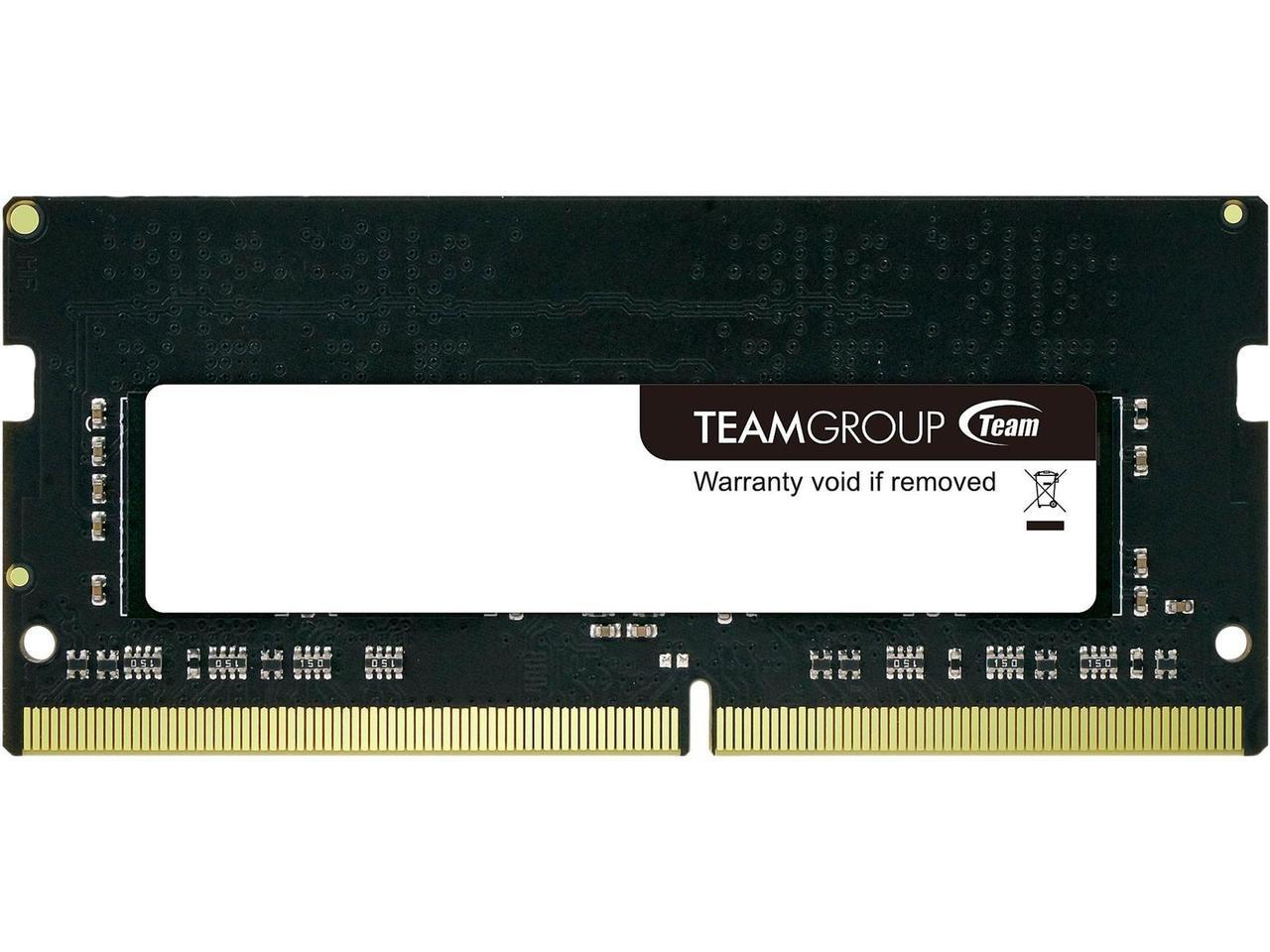 Памет Team Group Elite DDR4 SO-DIMM 8GB 2666MHz CL19-19-19-43 1.2V TED48G2666C19-S01-2