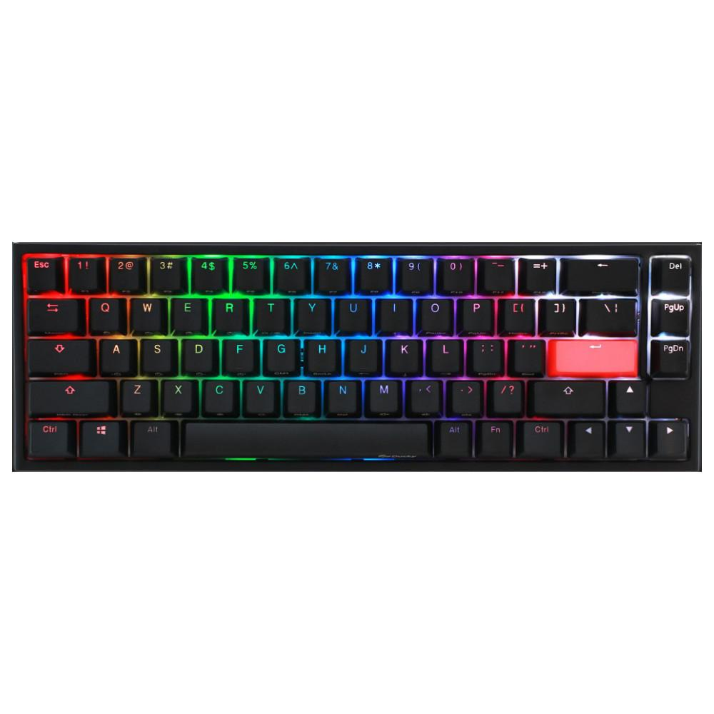Геймърскa механична клавиатура Ducky One 2 SF RGB, Cherry MX Silver