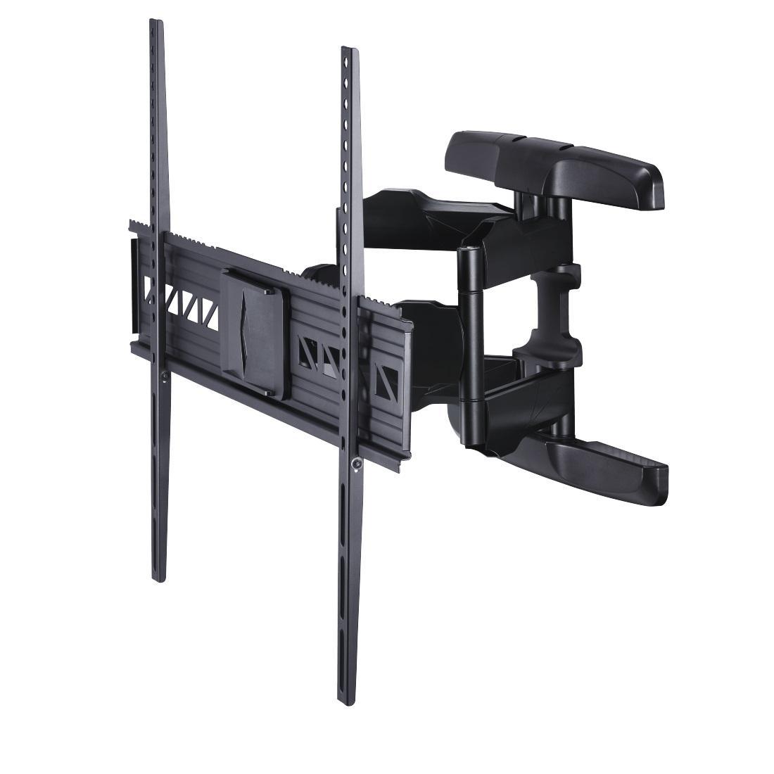 Стенна стойка за TV HAMA 118625, Регулируема, 46-90, 75 кг, Черен
