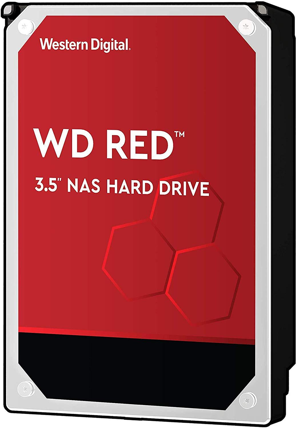 Хард диск WD RED, 2TB, 5400rpm, 256MB, SATA 3-1