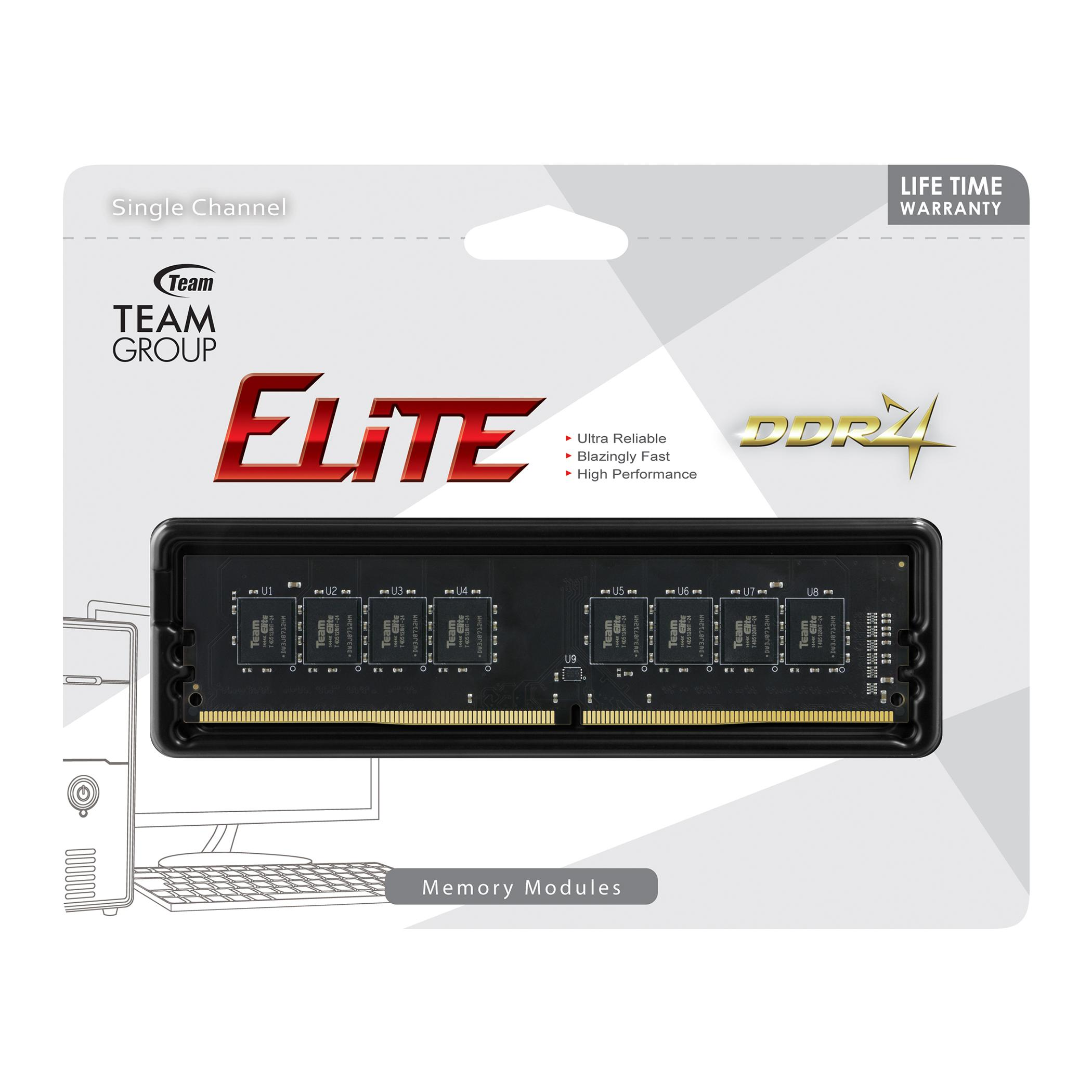Памет Team Group Elite 4GB 3000MHz CL22-22-22-52