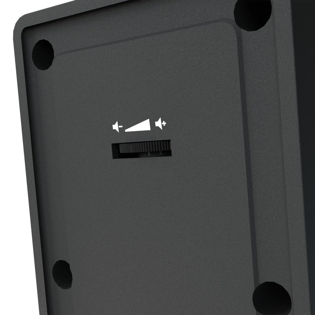 Тонколонки HAMA Sonic LS-208, 2.0, 3.5mm жак, Черен-3