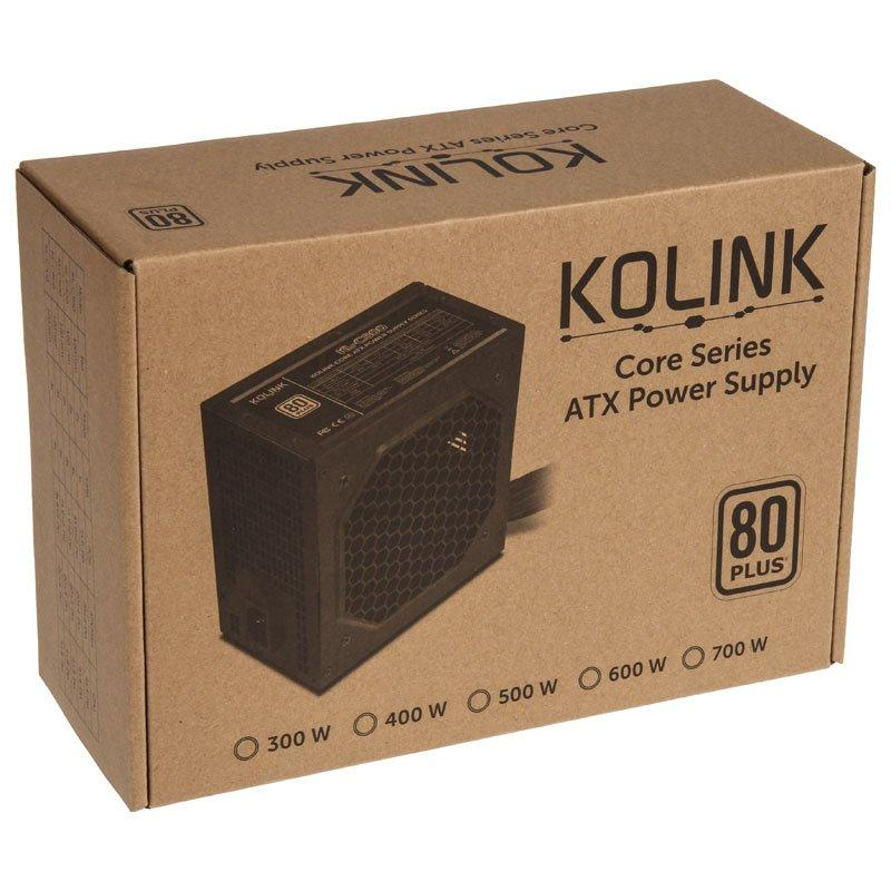 Захранващ блок Kolink Core 500W 80 PLUS-4