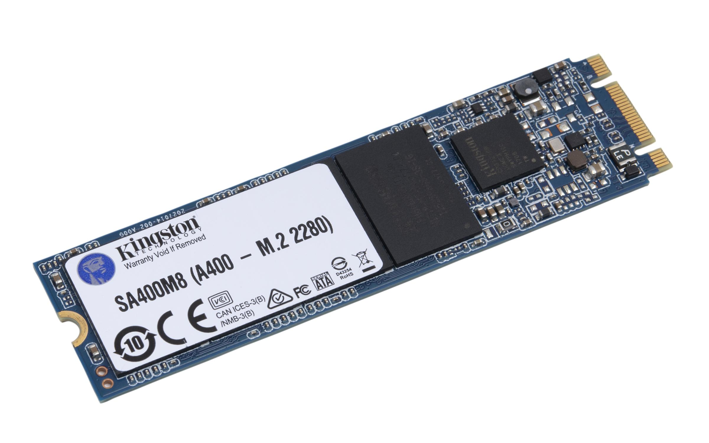 Solid State Drive (SSD) KINGSTON A400, m.2 2280, 480GB