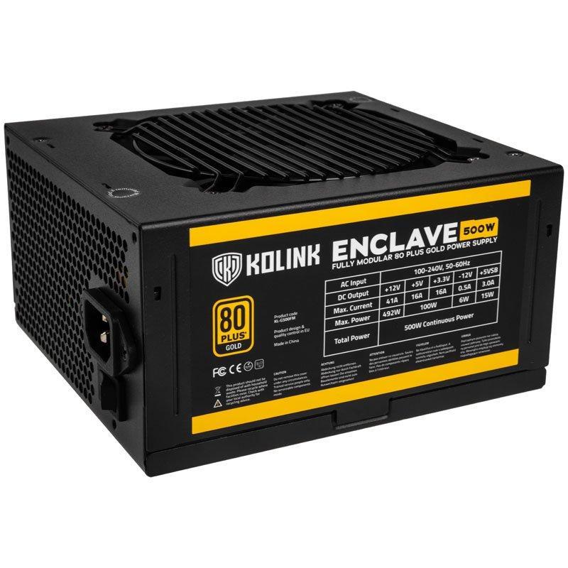 Захранващ блок Kolink Enclave 500W 80 PLUS Gold modular