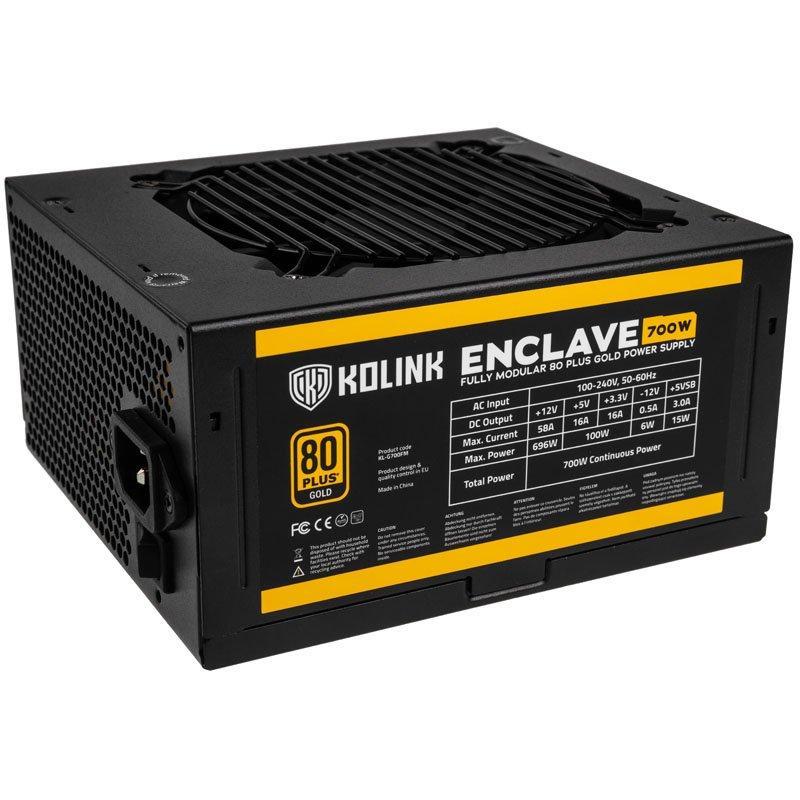 Захранващ блок Kolink Enclave 700W 80 PLUS Gold modular