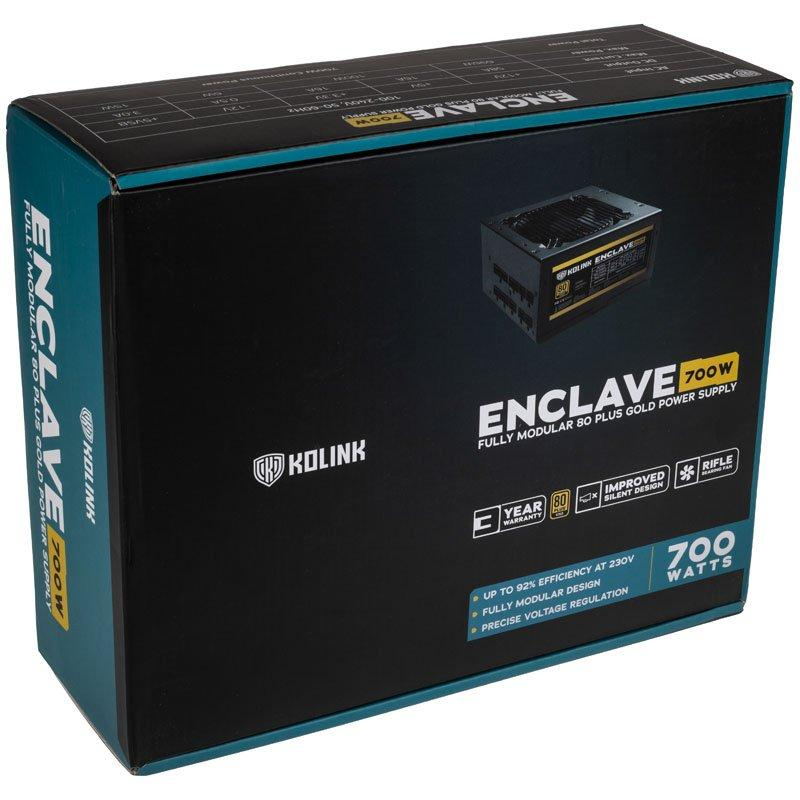 Захранващ блок Kolink Enclave 700W 80 PLUS Gold modular-2