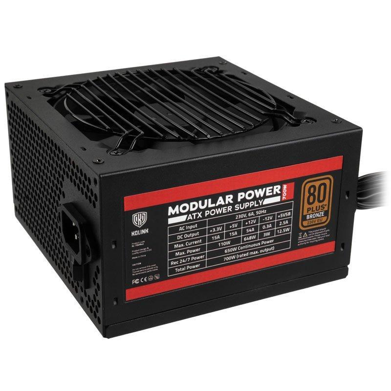 Захранващ блок Kolink Modular Power 700W 80 PLUS Bronze