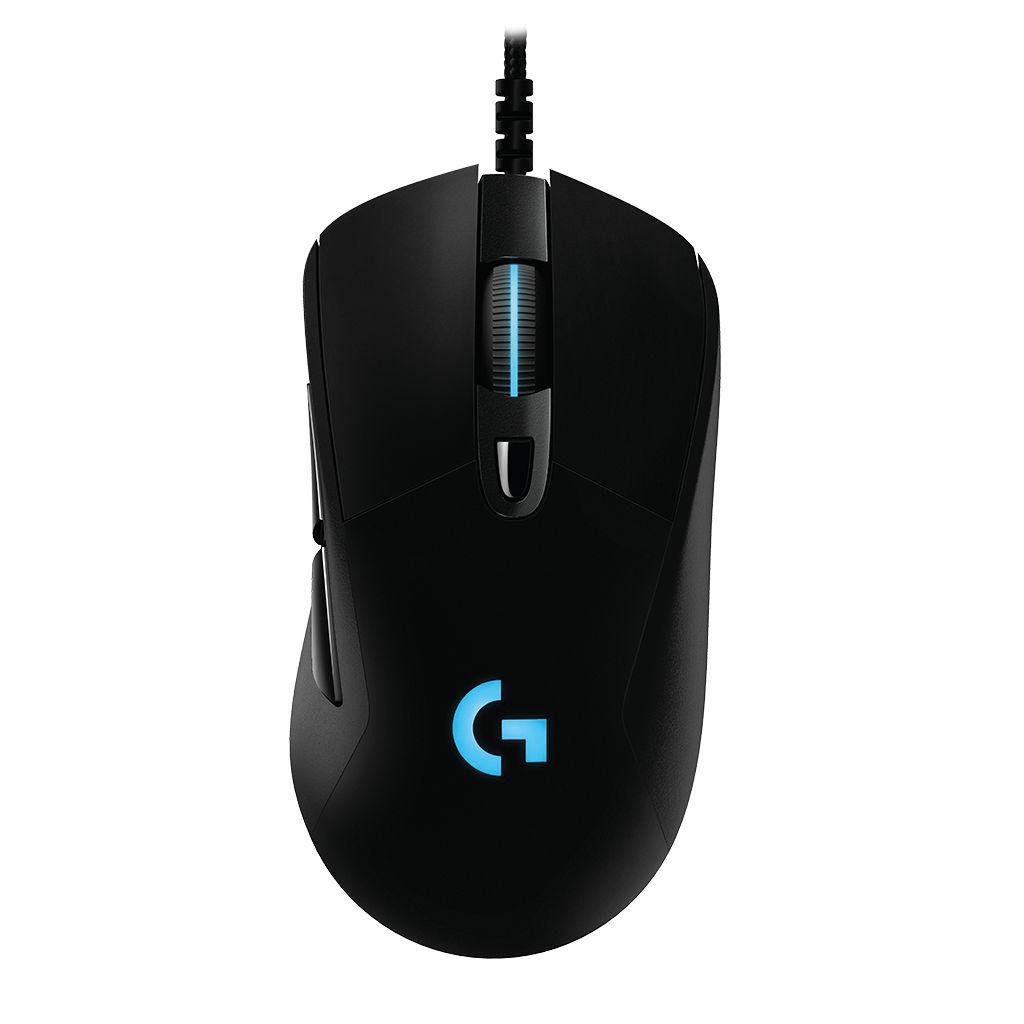 Геймърска мишка Logitech G403 HERO, Жична, Оптична, USB