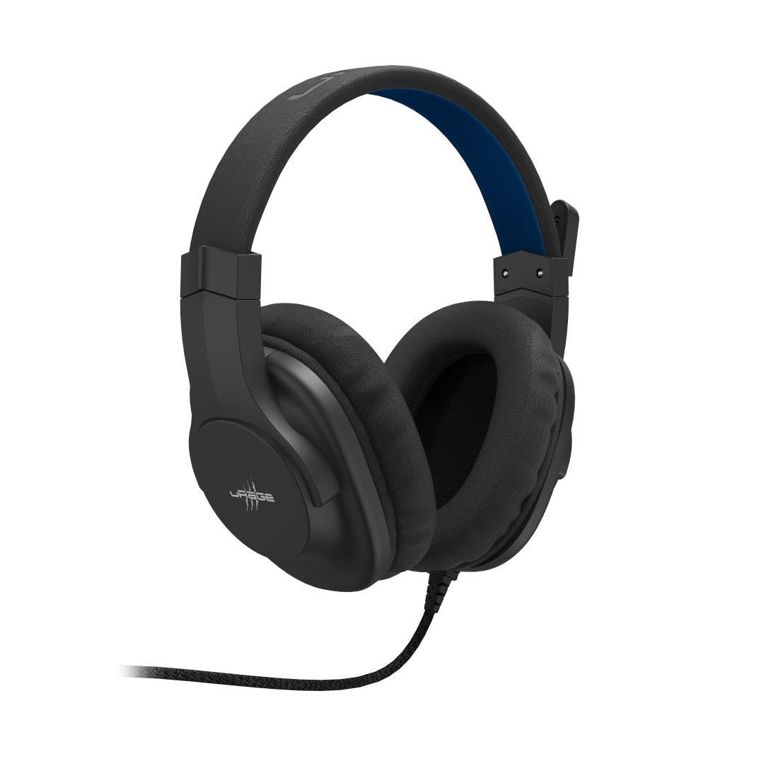 Геймърски слушалки Hama uRage Soundz 100, Микрофон, 3.5мм жак, Черен-2