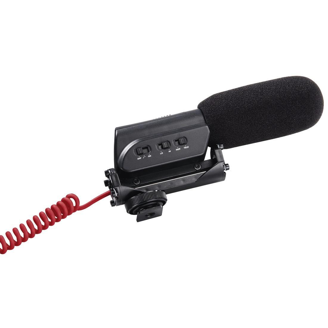 Микрофон за камера HAMA RMZ-18, кардиоиден, 3.5 mm жак, Черен-2