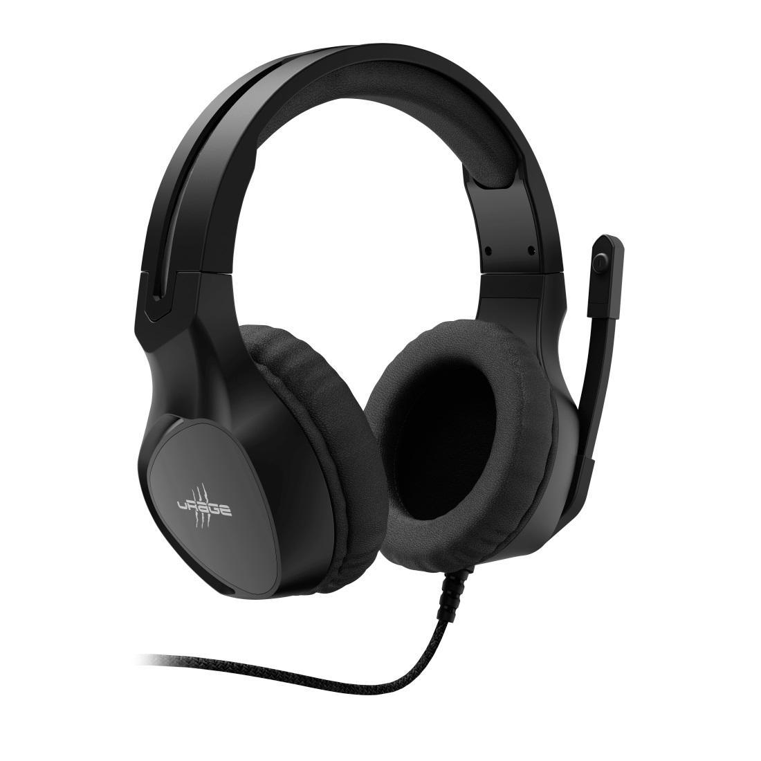 Геймърски слушалки Hama uRage Soundz 300, Микрофон, 3.5мм жак, Черен-2