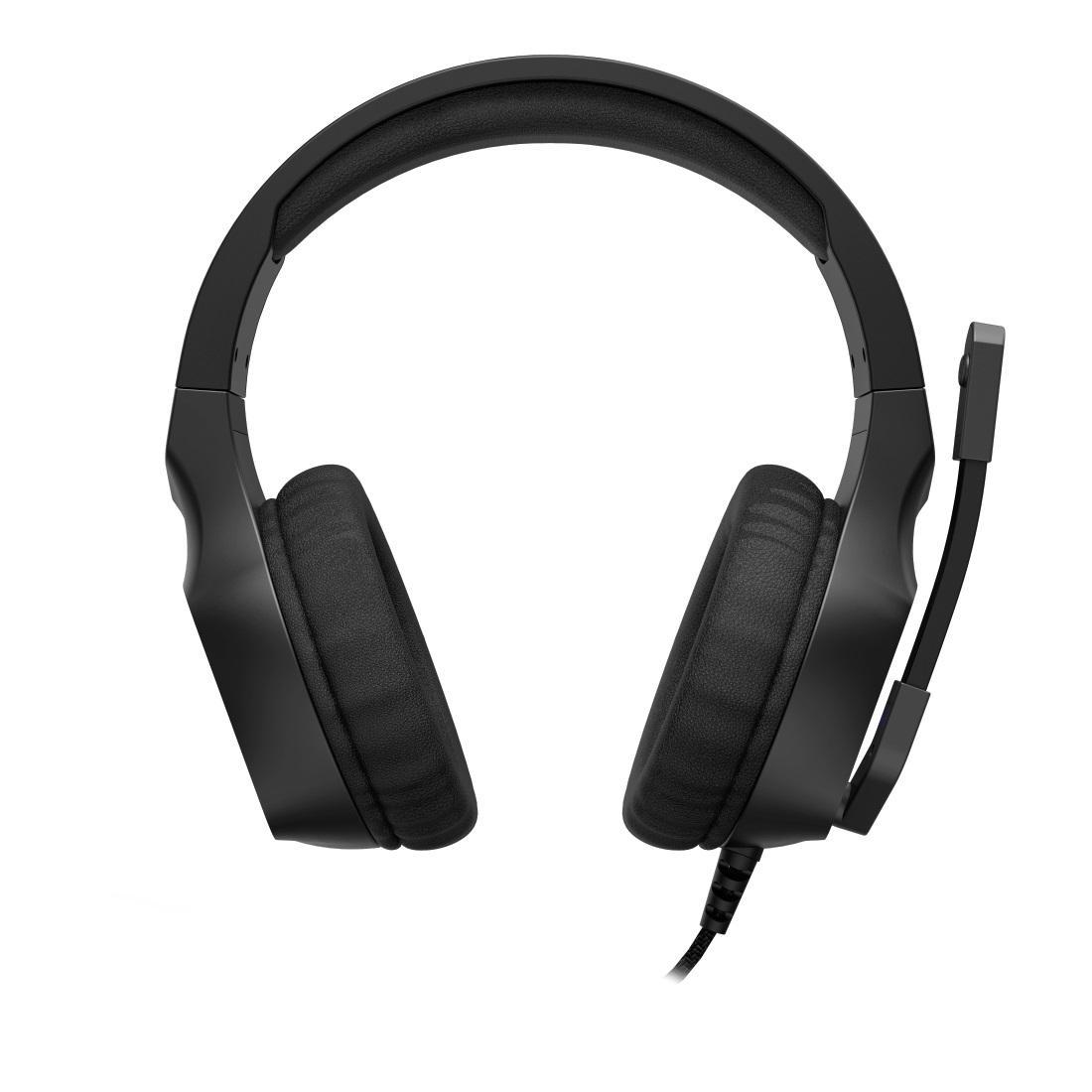 Геймърски слушалки Hama uRage Soundz 300, Микрофон, 3.5мм жак, Черен-3
