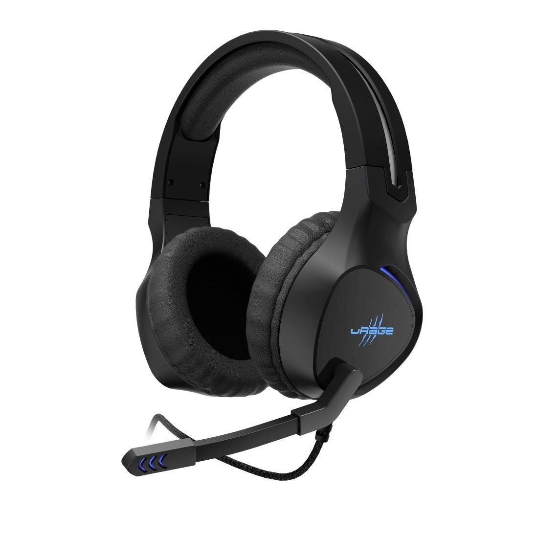 Геймърски слушалки Hama uRage SoundZ 400, Микрофон, USB Черен