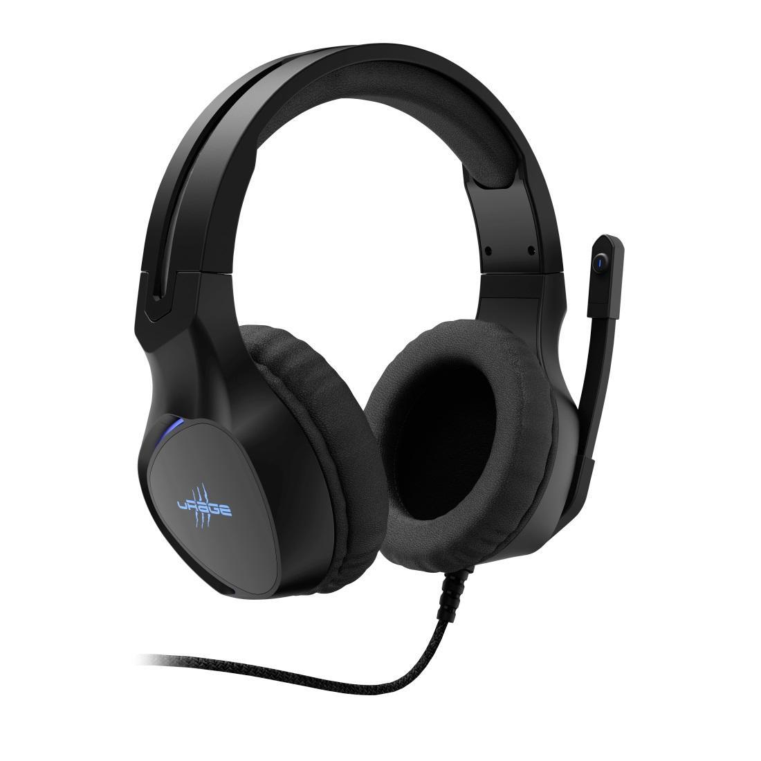 Геймърски слушалки Hama uRage SoundZ 400, Микрофон, USB Черен-2