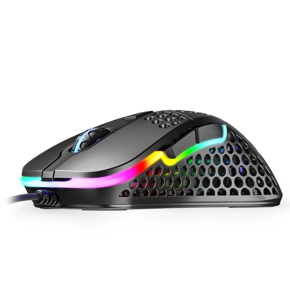 Геймърска мишка Xtrfy M4, Black