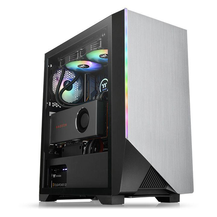 Кутия Thermaltake H550 TG ARGB, Tempered Glass, Mid-Tower