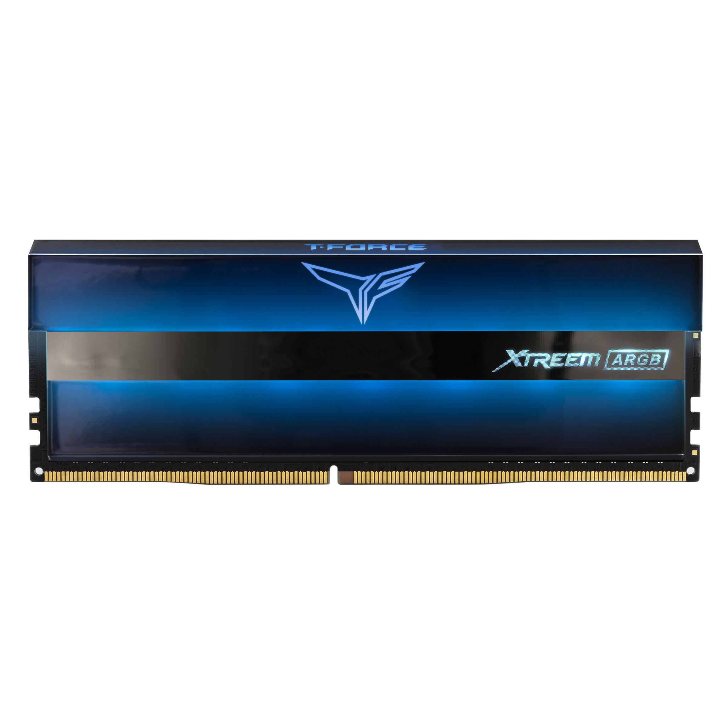 Памет Team Group T-Force XTREEM ARGB, DDR4, 16GB (2x8GB), 3600MHz, CL18-22-22-42, 1.35V-4