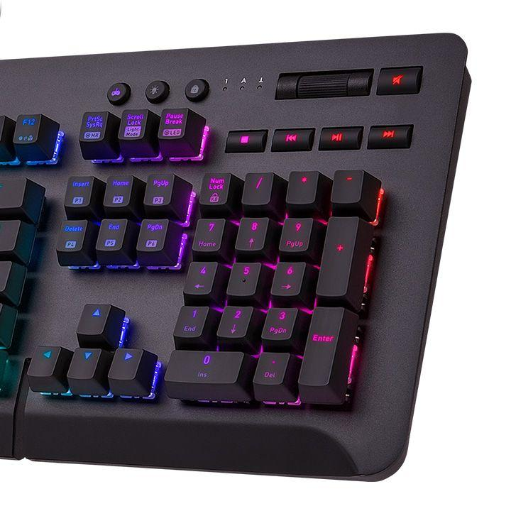 Геймърскa механична клавиатура TteSports Level 20 GT RGB Cherry MX Blue, US Layout-3