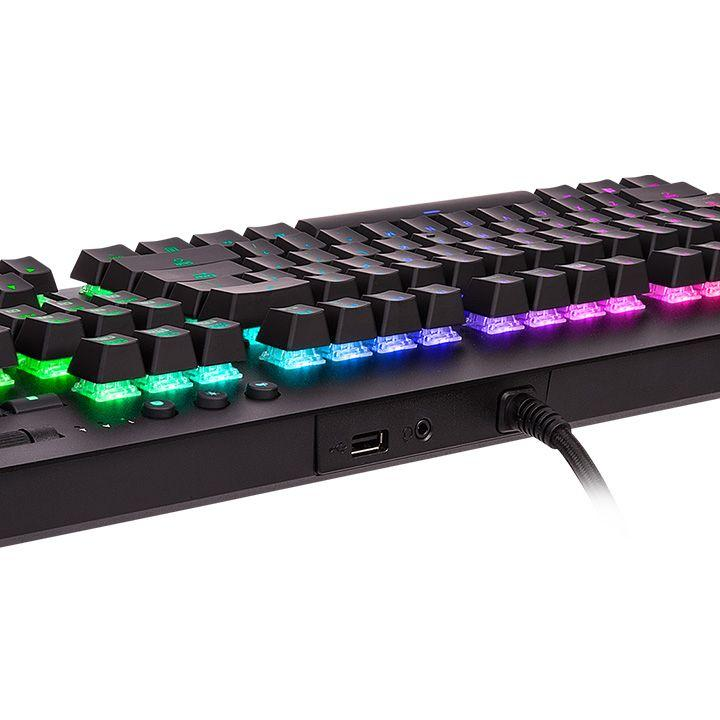 Геймърскa механична клавиатура TteSports Level 20 GT RGB Cherry MX Blue, US Layout-4