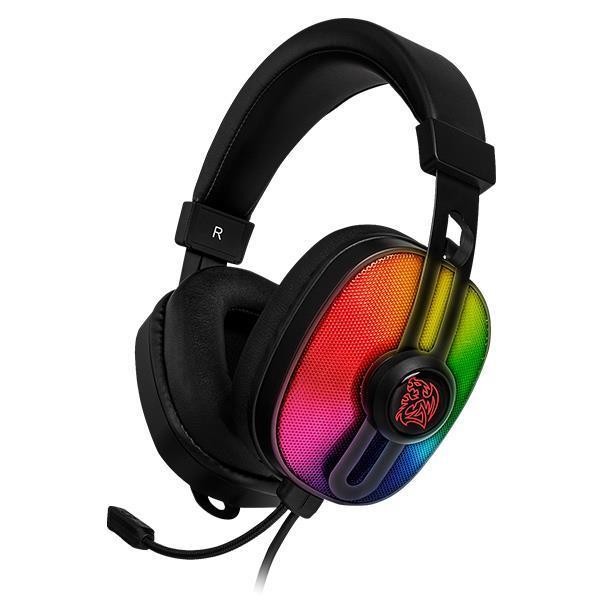 Геймърски слушалки TteSports Pulse G100, RGB, Черен