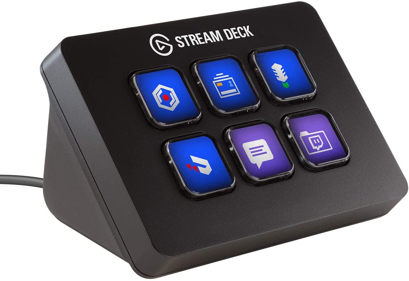 Контролер Elgato Stream Deck Mini, 6LCD бутона, Черен