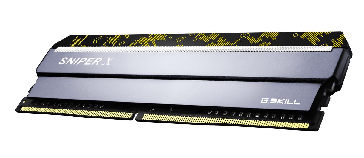 Памет G.SKILL Sniper X 16GB(2x8GB) DDR4 PC4-25600 3200MHz CL16 F4-3200C16D-16GSXKB-3