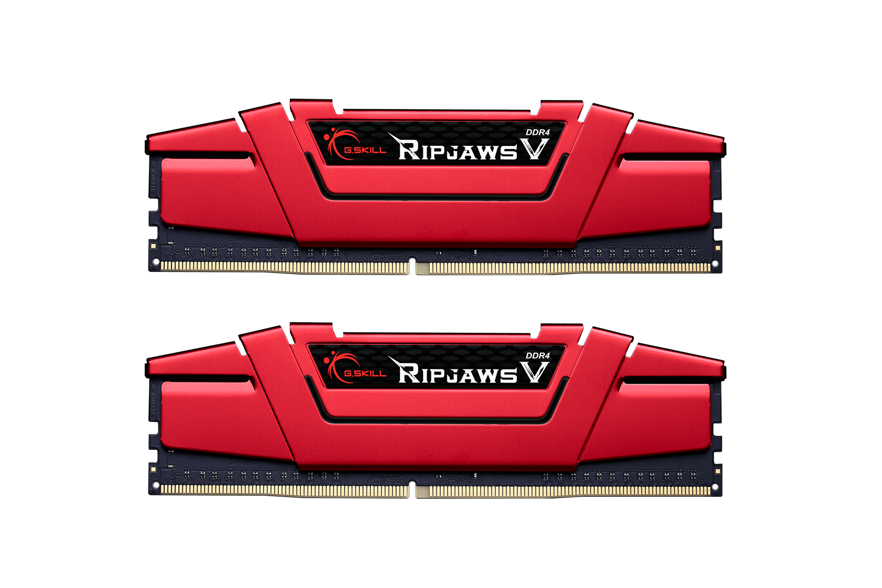 Памет G.SKILL Ripjaws V Red 32GB(2x16GB) DDR4 PC4-25600 3200MHz CL14 F4-3200C14D-32GVR