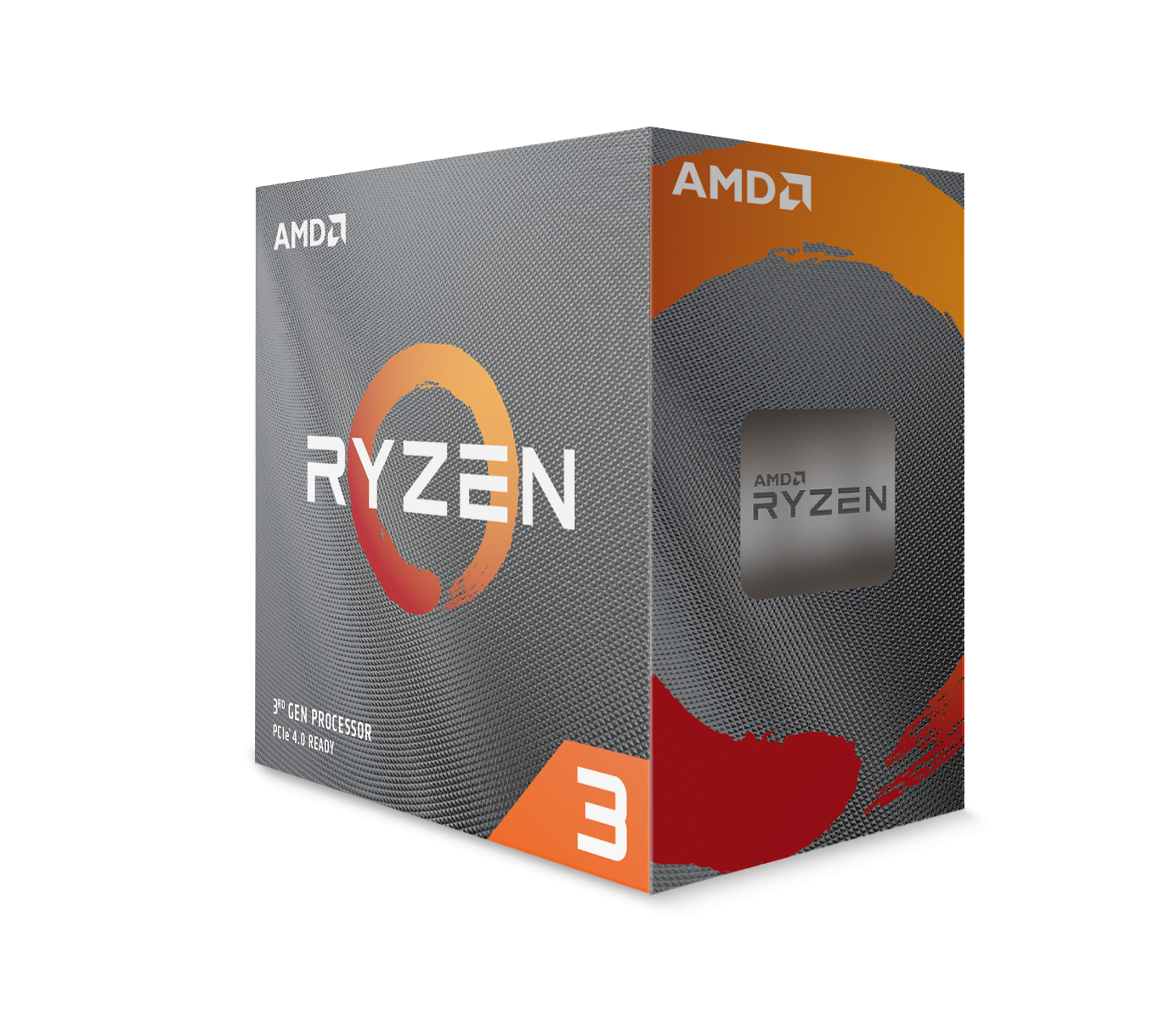 Процесор AMD RYZEN 3 3100 4-Core 3.6 GHz (3.9 GHz Turbo) 18MB/65W/AM4/BOX