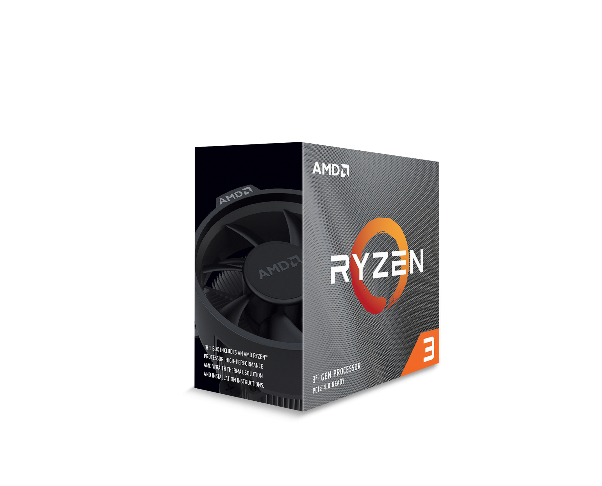 Процесор AMD RYZEN 3 3100 4-Core 3.6 GHz (3.9 GHz Turbo) 18MB/65W/AM4/BOX-2