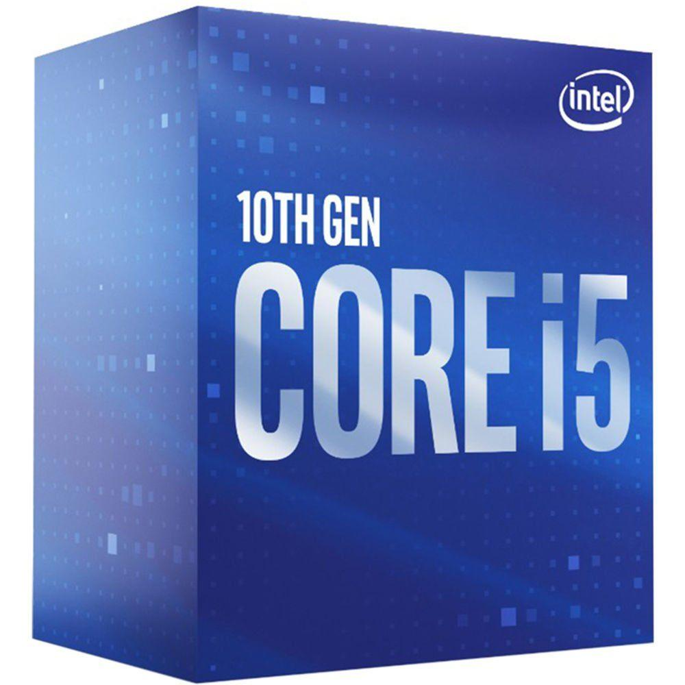Процесор Intel Comet Lake-S Core I5-10500, 6 cores, 3.1Ghz (Up to 4.40Ghz) 12MB, 65W, LGA1200, BOX