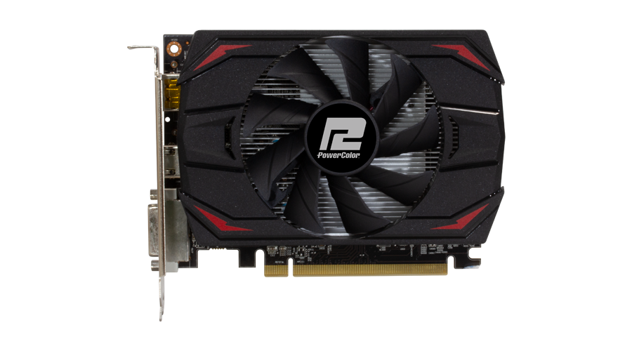 Видео карта PowerColor Red Dragon, Radeon RX 550, 4GB, GDDR5