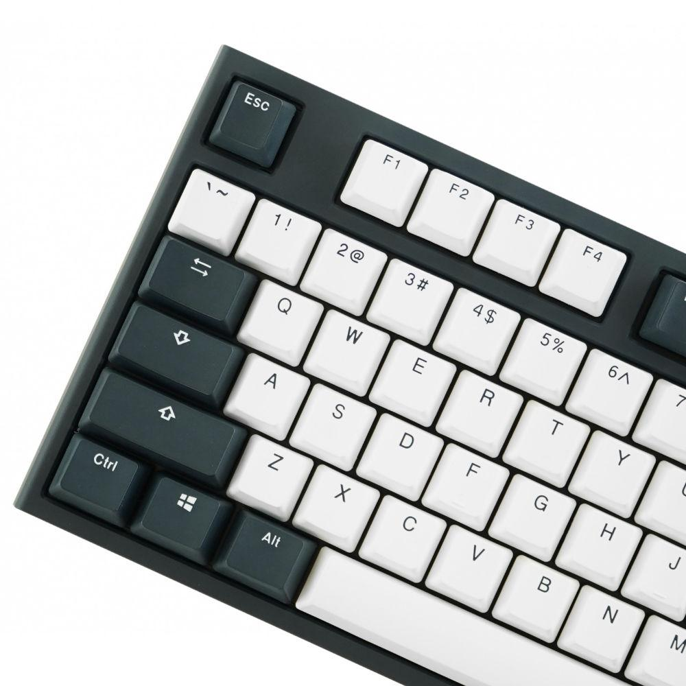 Геймърскa механична клавиатура Ducky One 2 Tuxedo TKL, Cherry MX Silver-3