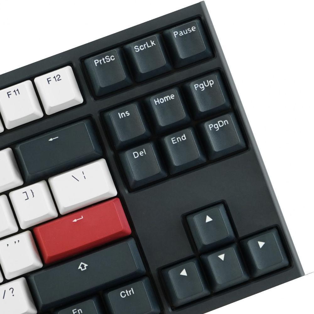 Геймърскa механична клавиатура Ducky One 2 Tuxedo TKL, Cherry MX Silver-4