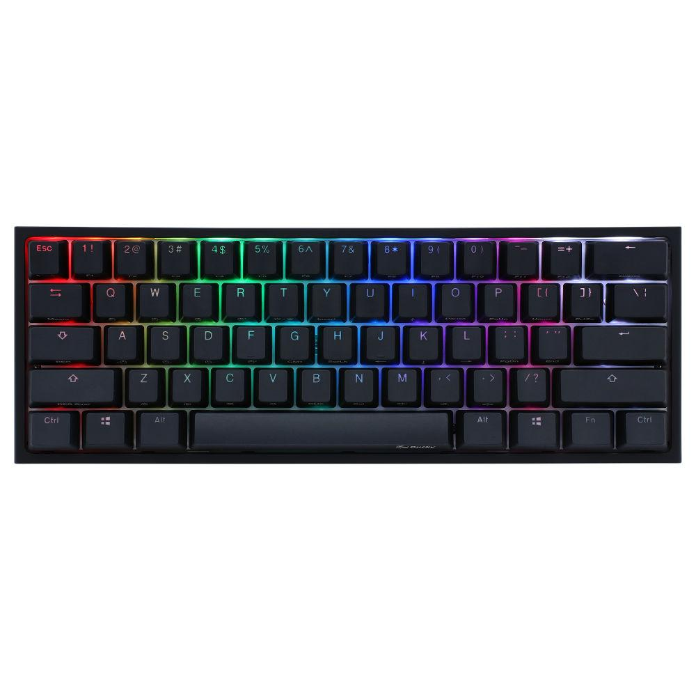 Геймърскa механична клавиатура Ducky One 2 Mini V2 RGB, Cherry MX Black