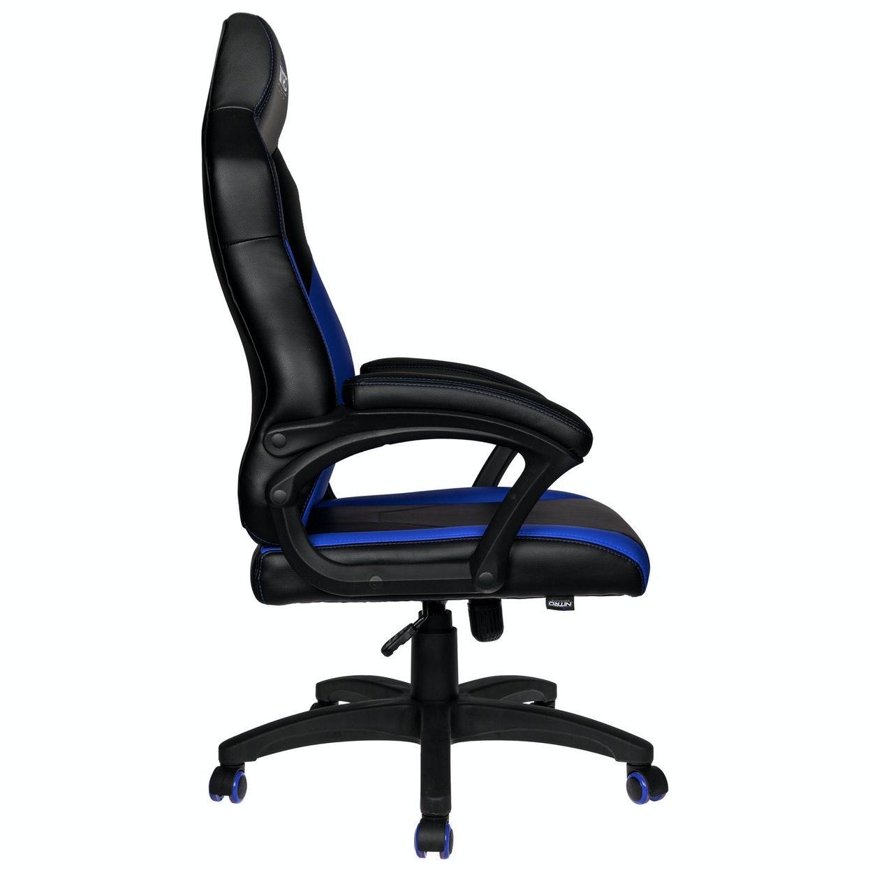 Геймърски стол Nitro Concepts C100 - Black/Blue-2
