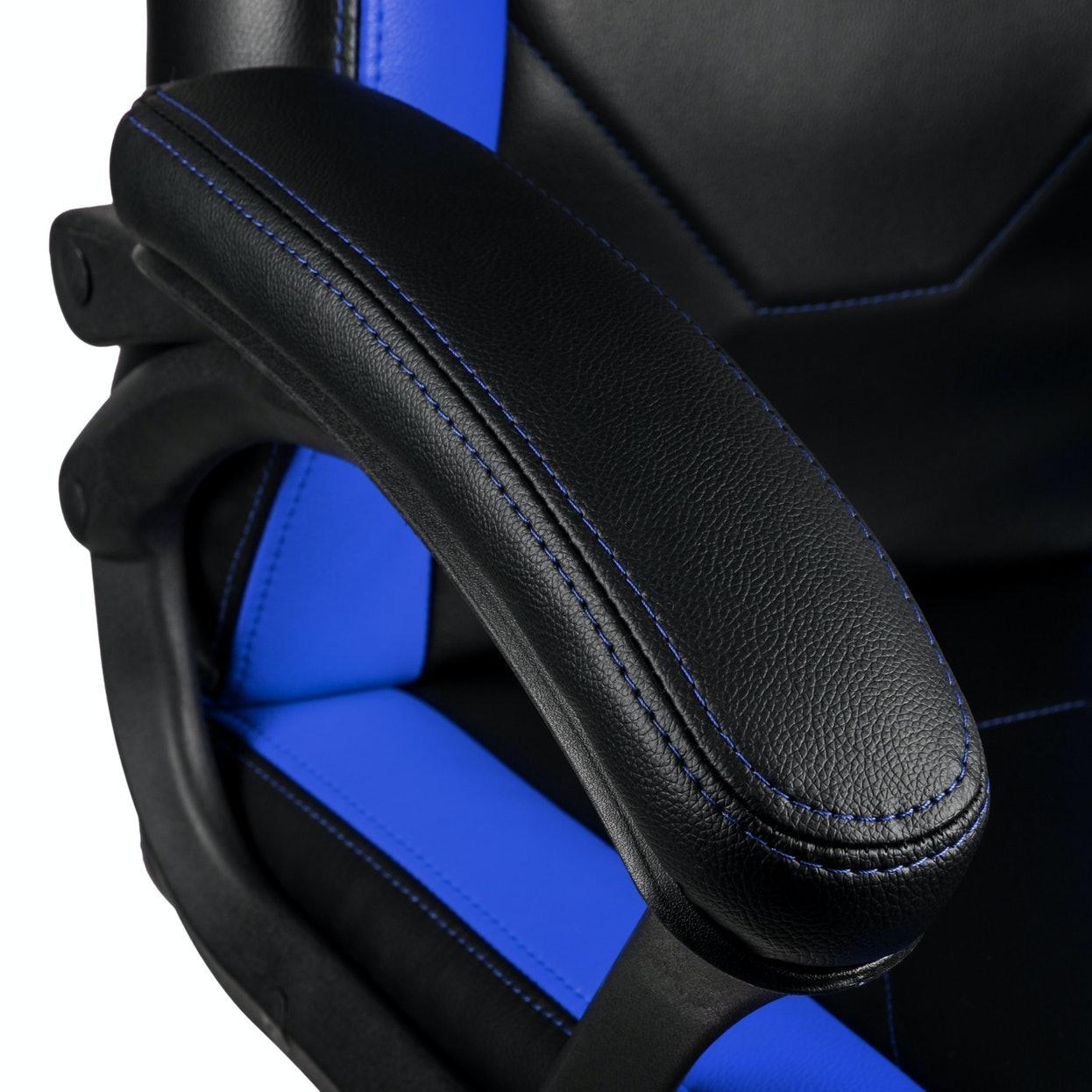 Геймърски стол Nitro Concepts C100 - Black/Blue-4