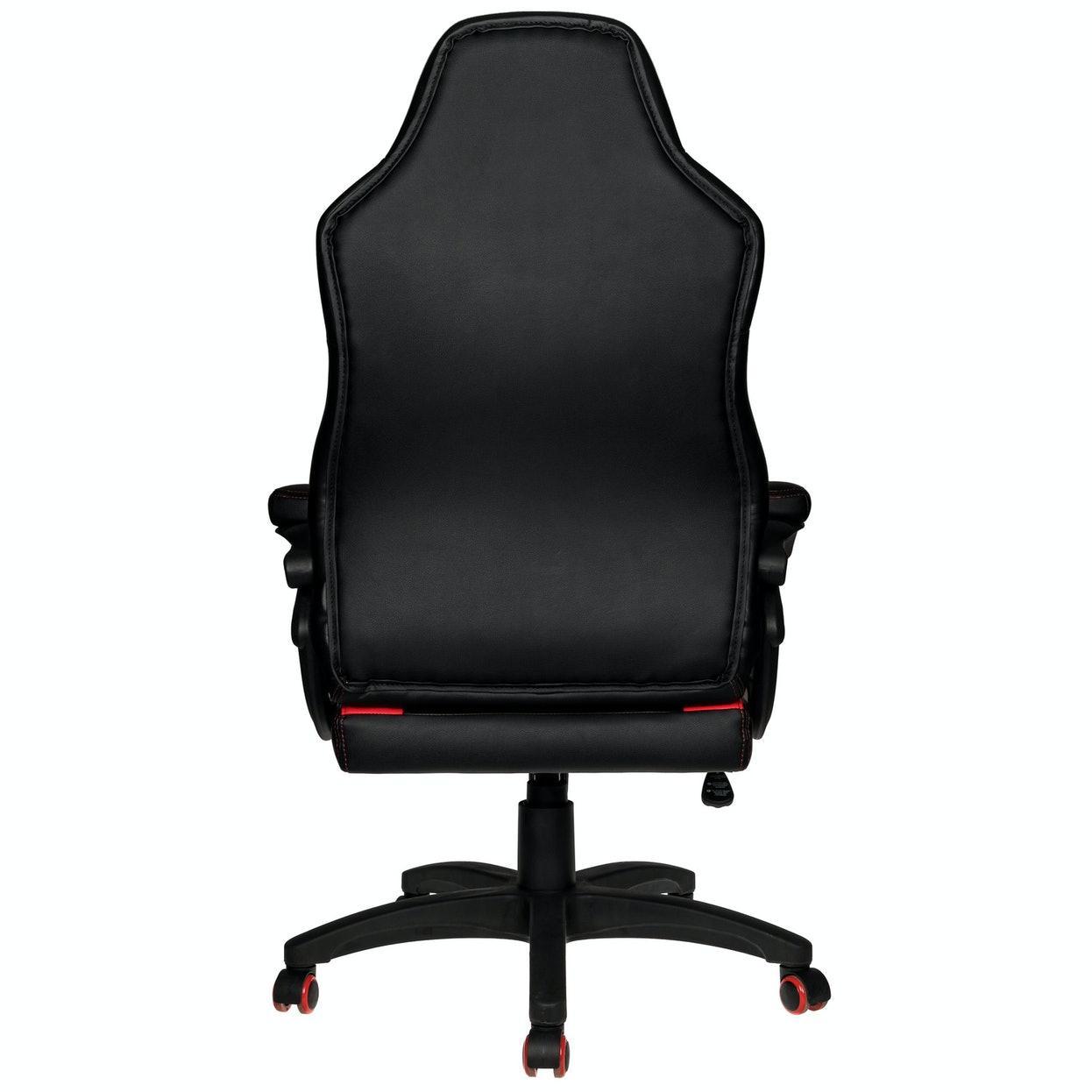 Геймърски стол Nitro Concepts C100 - Black/Red-3