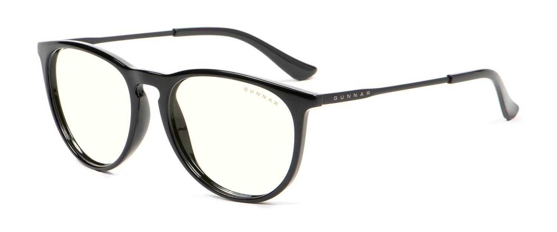 Геймърски очила GUNNAR Menlo Onyx, Clear, Черен