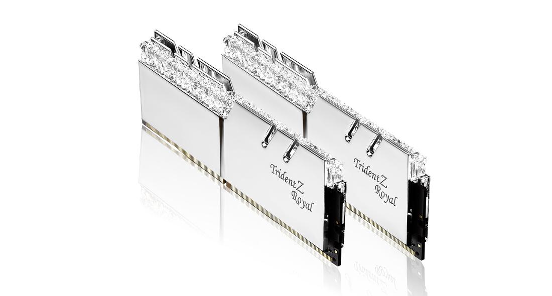 Памет G.SKILL Trident Z Royal 16GB(2x8GB) DDR4 PC4-32000 4000MHz CL18 F4-4000C18D-16GTRS-4