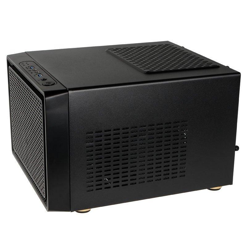 Кутия Kolink Satellite Cube, Mini-ITX, Micro-ATX, Черен-3