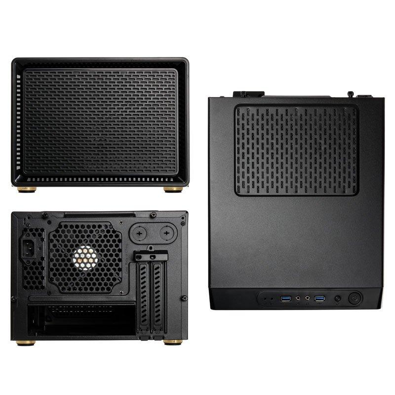 Кутия Kolink Satellite Cube, Mini-ITX, Micro-ATX, Черен-4